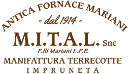 Terracotta aus Impruneta, Manufaktur M.I.T.A.L. - Dieter Wetter