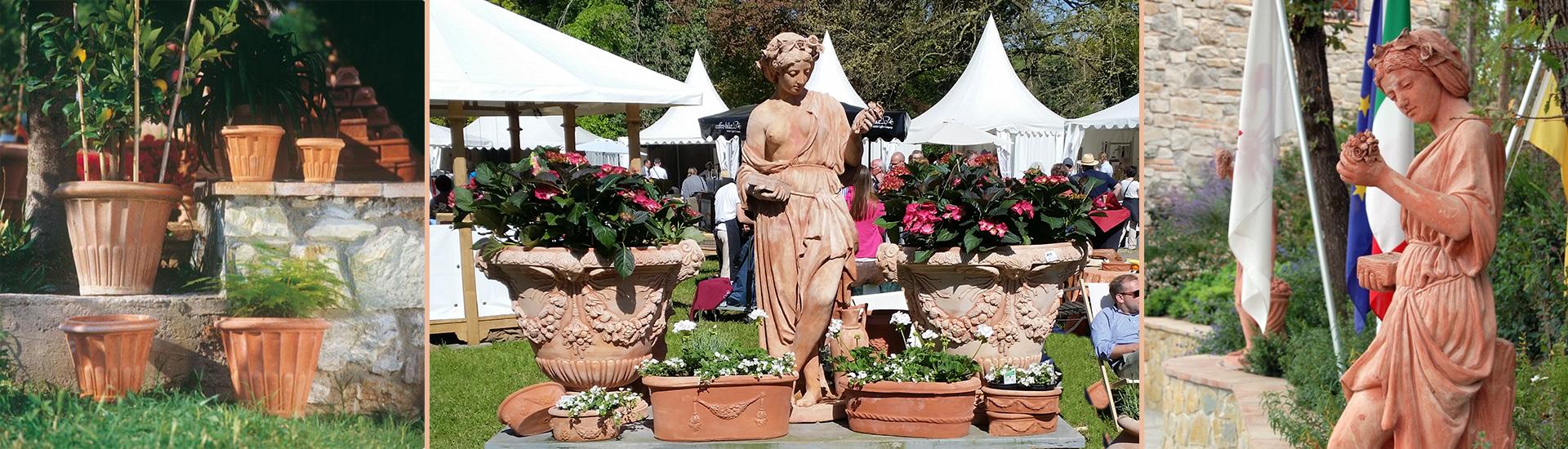 Impruneta Terracotta aus der sonnigen Toskana, Vertrieb Dieter Wetter