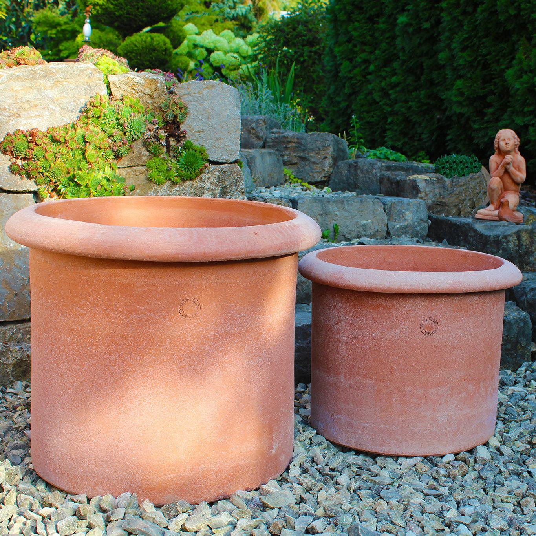 impruneta terracotta pflanztopf klassisch